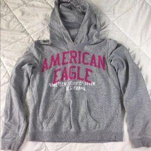 American Eagle Hoodie Sweatshirt Sz M